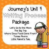 First Grade Journeys Unit 4 Writing Process with Rubrics