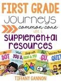 First Grade Journeys Unit 6 Bundle