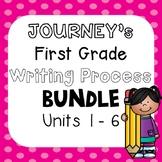 First Grade Journeys Units 1-6 Writing Bundle