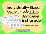 First Grade Journeys Word Walls for Each Unit