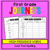 First Grade Journeys - Sight Words: Cool Tool Spelling