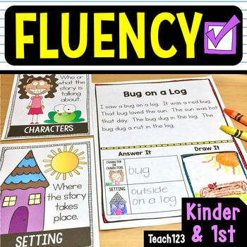 First Grade Kindergarten Reading Passages Printables Signs