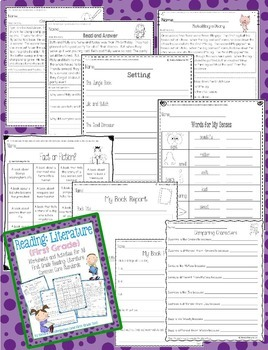 First Grade Language Arts Common Core Bundle