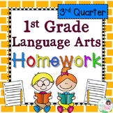 First Grade Language Arts Homework - 3rd Quarter