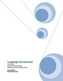 First Grade Language Arts Journal