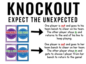 First Grade Language Arts Knockout {End of the Year REVIEW}
