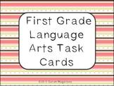 First Grade Language Arts Task Cards
