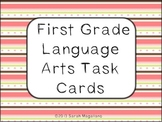 First Grade Language Arts Task Cards