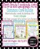 First Grade Language Arts and Math Common Core Super Bundle