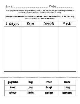 First Grade Language Standards Bundle
