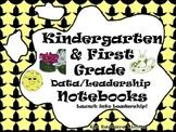 Kindergarten-First Grade Leadership Notebook and Data Binder: Space