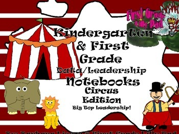 Kindergarten and First Grade Leadership Notebook and Data
