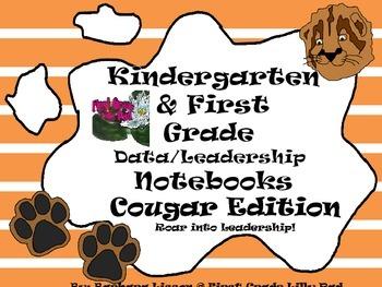 Kindergarten-First Grade Leadership Notebook and Data Bind