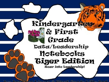 Kindergarten-First Grade Leadership Notebook and Data Bind