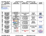 First Grade Lesson Plans for the whole 2nd Semester, Janua