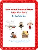 First Grade Leveled Books: Level F – Set 1
