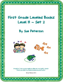 First Grade Leveled Books:  Level H - Set 2
