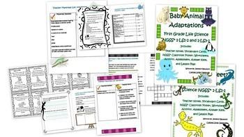 First Grade Life Science Bundle!!!