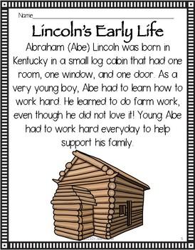 Close Reading: ABRAHAM LINCOLN