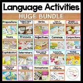 First Grade Literacy Activities HUGE BUNDLE