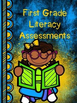 First Grade Literacy Assessments