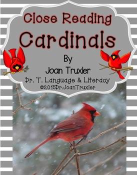 Close Reading: CARDINALS
