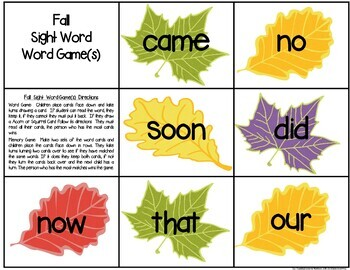 First Grade Literacy Centers: Eight November Themed Centers & Activities