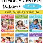 Literacy Centers Bundle for First Grade {Literacy Centers That Work Series}