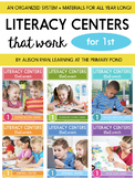 Literacy Centers Bundle for First Grade {Literacy Centers