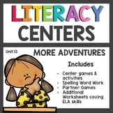 First Grade Literacy Centers Unit 13 2017 More Adventures
