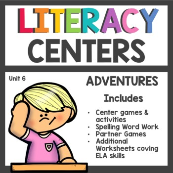 First Grade Literacy Centers Unit 6 2017 Version