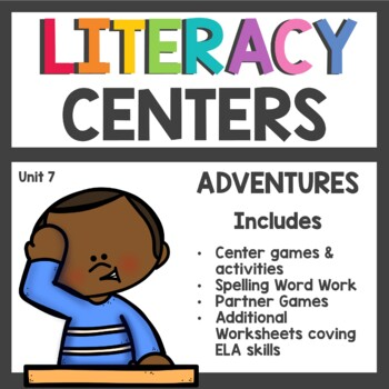 First Grade Literacy Centers Unit 7 2017 Version