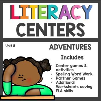 First Grade Literacy Centers Unit 8 2017 Version