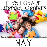 First Grade Literacy Centers for May