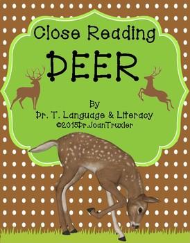 First Grade Literacy: DEER