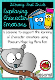 First Grade Literacy: Exploring Character Emotions - Possum Magic