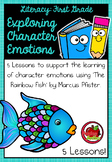 First Grade Literacy: Exploring Character Emotions - The Rainbow Fish