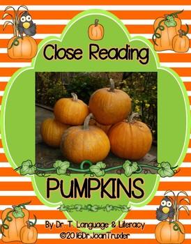 Close Reading: PUMPKINS