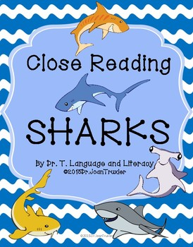 Close Reading: SHARKS!