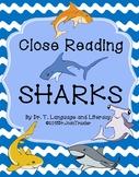 Close Reading: SHARKS!