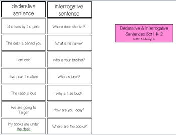 First Grade Literacy Sorts