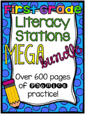 First Grade Morning Work Literacy Centers MEGA Bundle Part 2