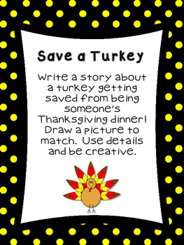 First Grade Literacy Stations for November with BONUS November Calendar Set