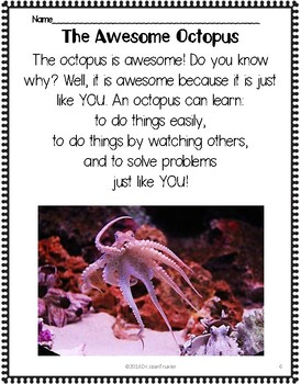 Close Reading: OCTOPUS