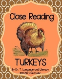 Close Reading: TURKEYS