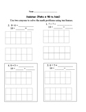 First Grade: Make a 10 to Add Assessment