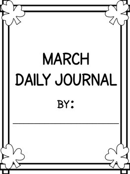March Daily Journal - 2018
