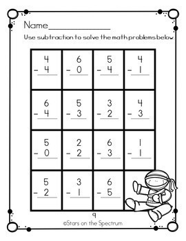 Math Worksheets Bundle (Addition,Subtraction and Graphing)