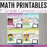 First Grade Math Printables Worksheets
