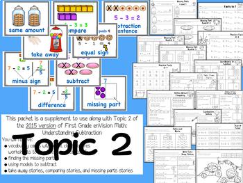 First Grade Math  2015 Version Bundle